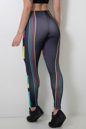 Calça Feminina Legging Sublimada Colorquad | Ref: CAL413-041