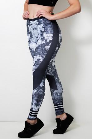Calça Feminina Legging Sublimada Dark Camo | Ref: CAL420-041