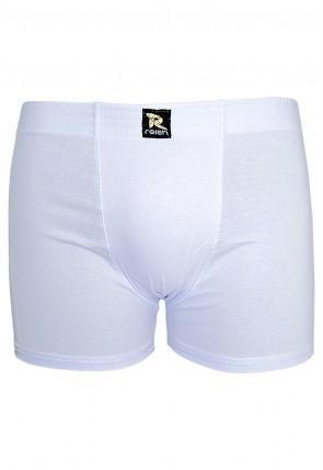 Kit com 2 Cuecas Boxer 221 - Cotton (BRANCA) | Ref: CEZ-CF221-002
