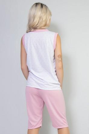 Pijama Pescador 098 Rosa   Ref: CEZ-PA098-007
