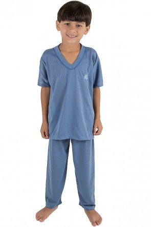 CEZ-PA103-002_Pijama_infantil_masculino_103_Azul_acinzentado__Ref:_CEZ-PA103-002