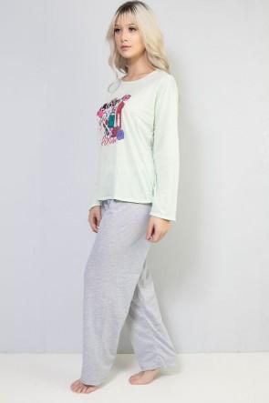 Pijama Longo 245 (Verde) CEZ-PA245-001