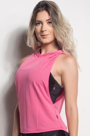 Camiseta Regata Mullet Dry Fit Com Capuz (Rosa Pink) | Ref: CMT107-006/000/000