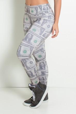 Legging Dólar Estampa Digital | Ref: F1006-001