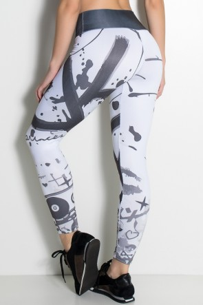 Legging Rock Princess Sublimada | Ref: F1841-001