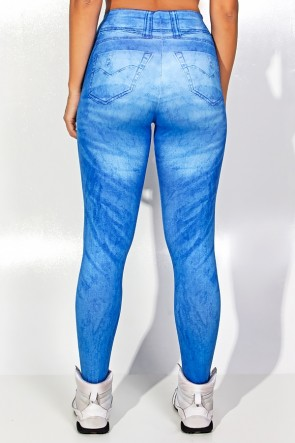 Legging Blue Jeans Sublimada | Ref: F1843-001