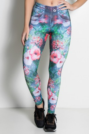 F1852-001_Legging_Jeans_Folhas_e_Flores_Sublimada__Ref:_F1852-001