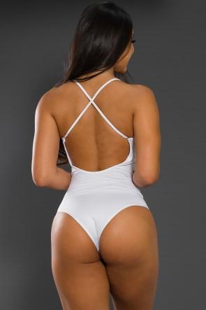 Body Liso com Alças Cruzadas (DANGEROUS WOMAN) | Ref: F2062-001