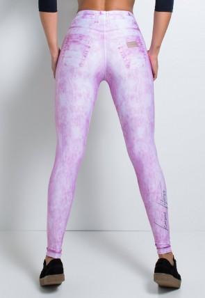 Legging Jeans Rosa Sublimada | Ref: F2147-001