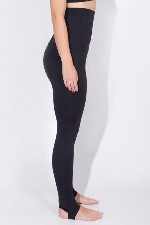 Calça Mirella Modeladora com Pezinho (Preto) | Ref: F215-001