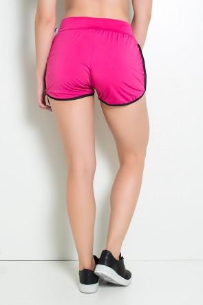 Short Lindsay (Rosa Pink / Preto) | Ref: F509-005
