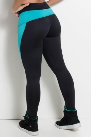 Calça Legging Taylor Lisa Duas Cores | Ref:F687-001