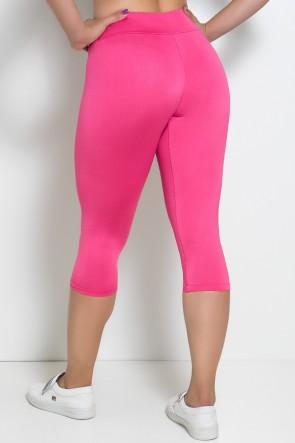 Calça Corsário  (Rosa Pink) | Ref:F73-015