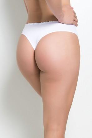 Calcinha Safira (Branco) | Ref: KS-A173-001