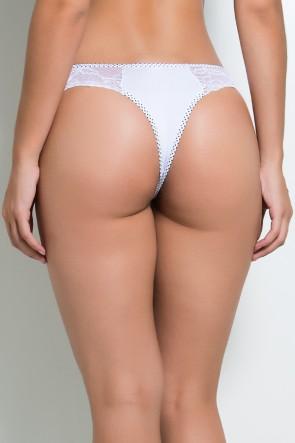 Calcinha Camila (Branco) | Ref: KS-A180-001