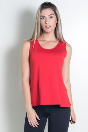 KS-F1022-009_Camiseta_de_Microlight_Nadador_com_Alca_Dupla_Vermelho__Ref:_KS-F1022-009