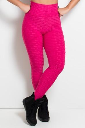 KS-F103-002_Calca_Legging_Tecido_Bolha_Rosa_Pink__Ref:_KS-F103-002
