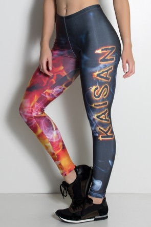 Legging Flame Kaisan Sublimada | Ref: KS-F1105-001