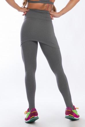 Calça Legging Mescla com Tapa Bumbum   Ref: KS-F113-001