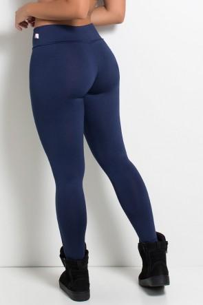 Legging Lisa Cós Baixo (Azul Marinho) | Ref: KS-F1762-001