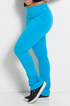 Calça Bailarina Isabel (Azul Celeste) | Ref: KS-F180-006