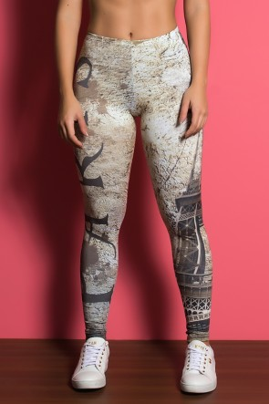 Legging Paris Estampa Digital | Ref: KS-F1878-001