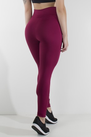 Legging Lisa  Vinho | Ref: KS-F23-002