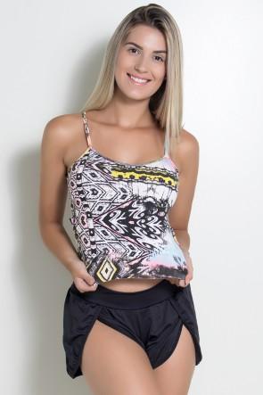 KS-F506-001_Camiseta_Estampado_Abstrato_Rosa_Amarelo_e_Preto__Ref:_KS-F506-001