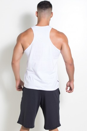 Camiseta Regata Muscle Swag (Branco) | Ref: KS-F528-001