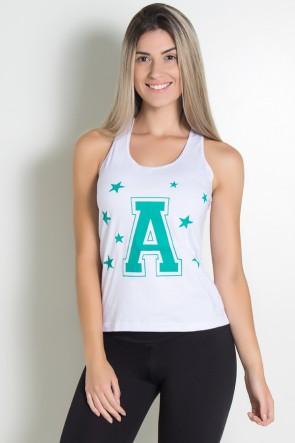 KS-F577-002_Camiseta_de_Malha_Nadador_A__Estrelas_Branco__Ref:_KS-F577-002