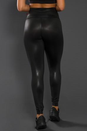 Calça Ivy Tecido Cirrê (Preto) | Ref: KS-F617-001