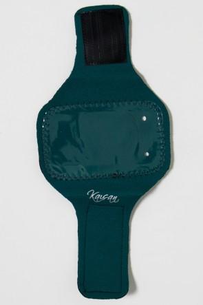 Braçadeira Pequena Lisa para Celular (Verde Musgo)   Ref: KS-F665-007