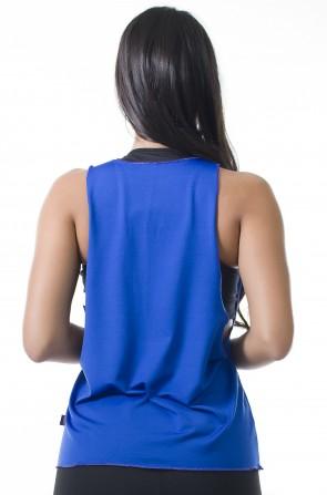 Regata Feminina Lisa (Azul Royal) | Ref: KS-F825-005