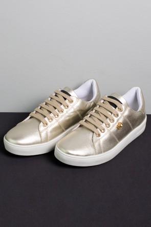 KS-T42-005_Tenis_Mini_Sneaker_com_Cadarco_Dourado__Ref:_KS-T42-005