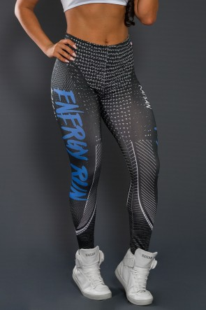 Legging Sublimada PRO (Energy Run Blue) | Ref: NTSP35-001