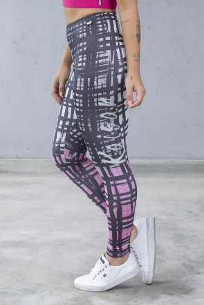Legging Estampa Digital PRO (Xadrez) | Ref: NTSP38-001