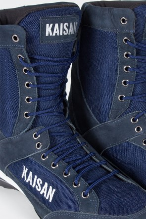 Bota Fitness Cano Alto (Azul Marinho)   Ref: T31