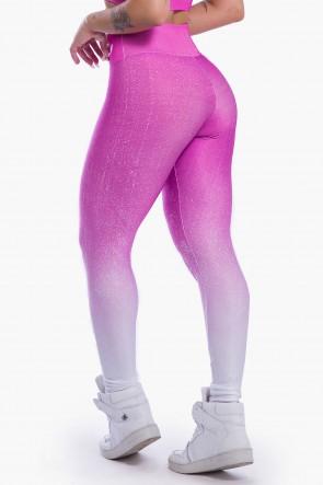 Calça Legging Sublimada (Purple Gradient) | Ref: K2298-A