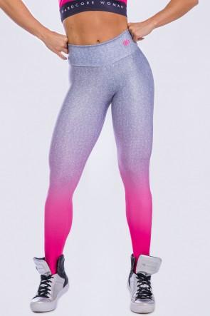 Calça Legging Estampa Digital Pink Fade | Ref: K2296-A
