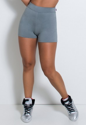 Short Hot Pant Liso (Cinza) | Ref: KS-F2113-001