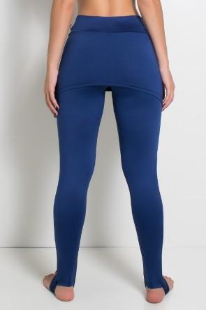 Legging com Tapa Bumbum (Azul Marinho) | Ref:F35-003