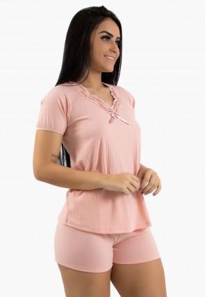 Baby doll Feminino 385 (Rosa Claro) | Ref: CEZ-CZ385-002