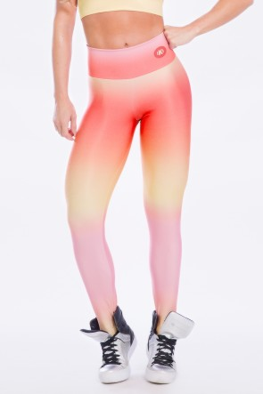 Calça Sublimada Orange Sunset | Ref: K2491-B
