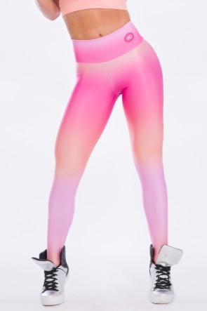 Calça Estampa Digital  Pink Sunset | Ref: K2491-A