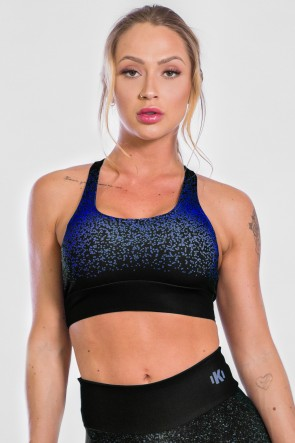 Top Sublimado Blue Confetti | Ref: K2319-C