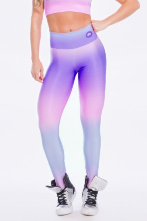 Calça Estampa Digital Purple Sunset | Ref: K2491-D