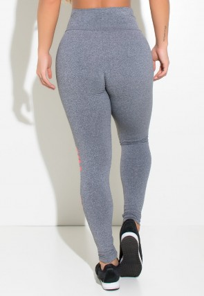 Legging Mescla (Gym Is My Truth Love) | Ref: KS-F461-001