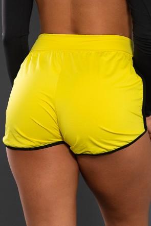 Short Lindsay (Amarelo / Preto)   Ref: KS-F509-002
