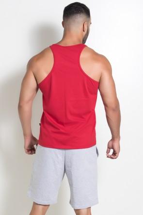 Camiseta Regata Muscle Swag (Vermelho) | Ref: KS-F528-003