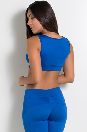 Top Fiorela Liso (Azul Royal) | Ref: KS-F659-008
